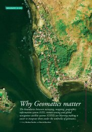 Why Geomatics matter - GIS and Remote Sensing Unit at ...