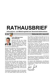 RATHAUSBRIEF