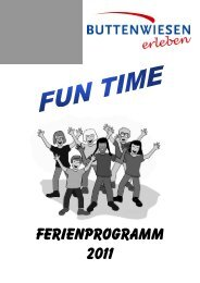 Ferienprogramm 2011