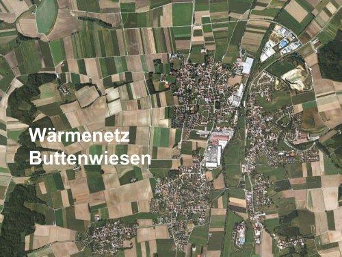 Wärmenetz Buttenwiesen Wärmenetz Buttenwiesen