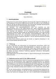 Preisblatt