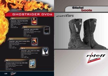 GHOSTRIDER DVDs - Moto.hu