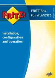FRITZ!Box Fon WLAN 7170 - AVM
