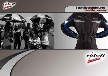 Textilbekleidung textile wear - Moto.hu