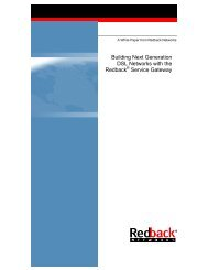 Building Next Generation DSL Networks with the ... - Light Reading