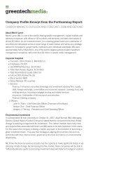A Company Profile - Light Reading