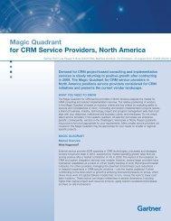 Magic Quadrant for CRM Service Providers, North ... - Light Reading