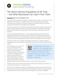 The Worst Internet Acquisitions of All Time – and ... - Light Reading