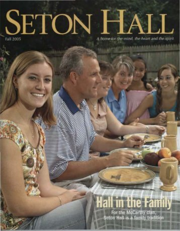 Seton Hall Magazine, Fall 2005 - Seton Hall University