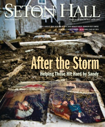 Download and read the entire issue here - Seton Hall University