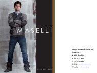 Winterkollektion 2011-2012 - Maselli