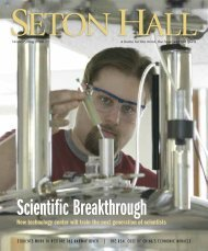 cover layout17g2 - Seton Hall University