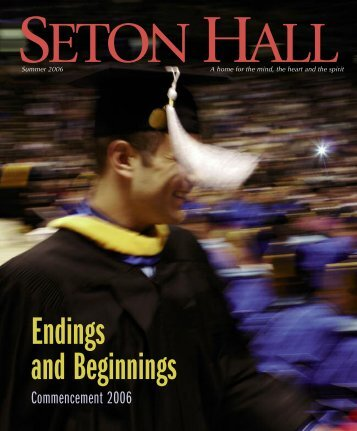 Commencement 2006 - Seton Hall University