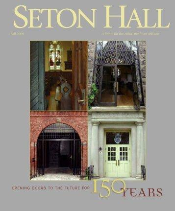 2006 fall magazine - Seton Hall University