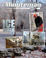 Massachusetts Minuteman Magazine - Spring 2009 - Keep Trees