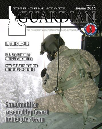 The Gem State Guardian - Spring 2011 - Keep Trees