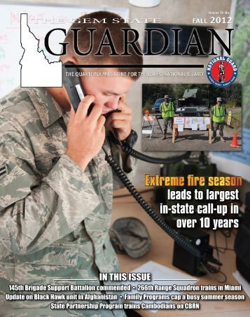 The Gem State Guardian - Fall 2012