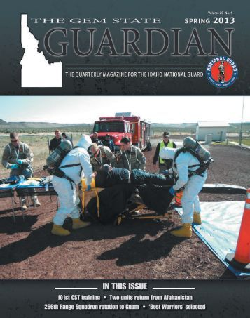 The Gem State Guardian - Spring 2013