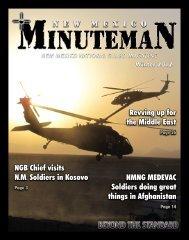 New Mexico Minuteman - Winter 2012