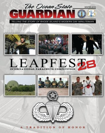 The Ocean State Guardian - Winter 2010
