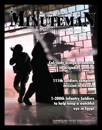 New Mexico Minuteman - Spring 2012 - Keep Trees