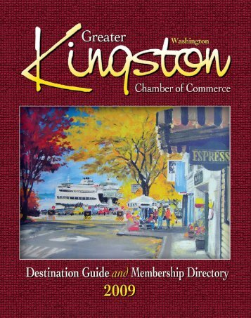 Greater Kingston Chamber of Commerce Destination ... - Keep Trees