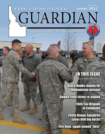 The Gem State Guardian - Spring 2012