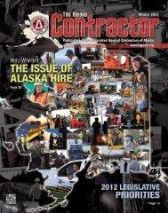 The Alaska Contractor - Winter 2012
