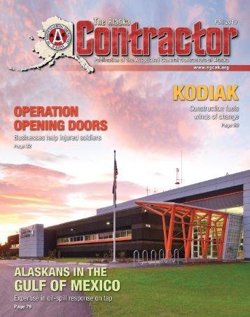 The Alaska Contractor - Alaska Quality Publishing, Inc.