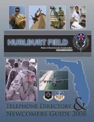 Hurlburt Field - Telephone Directory & Newcomers ... - Keep Trees