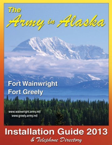 The Army in Alaska