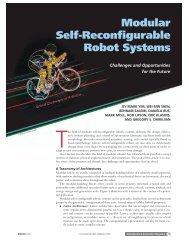 Modular Self-Reconfigurable Robot Systems - Cornell Creative ...
