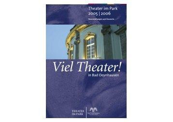 Download Programm TiP 2005/2006 - Bad Oeynhausen