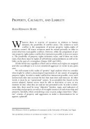 Property, Causality, and Liability