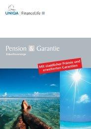 Pension Garantie