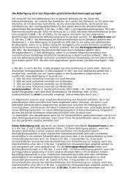 Die Abfertigung ist in den folgenden gesetzlichen Bestimmungen ...