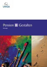 Pension Gestalten