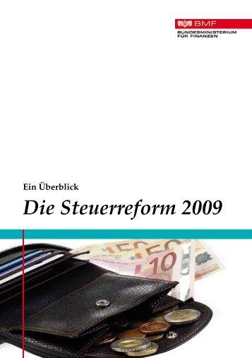 Die Steuerreform 2009