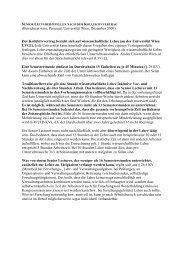Der Kollektivvertrag bezieht sich auf wissenschaftliche Lehre - des ...