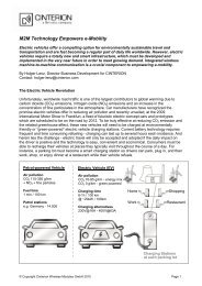 M2M Technology Empowers e-Mobility - Embedded Community