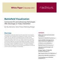 Battlefield Visualization - Embedded Community - Intel