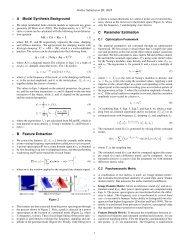 Supplementary Material - Geometric Algorithms for Modeling, Motion ...