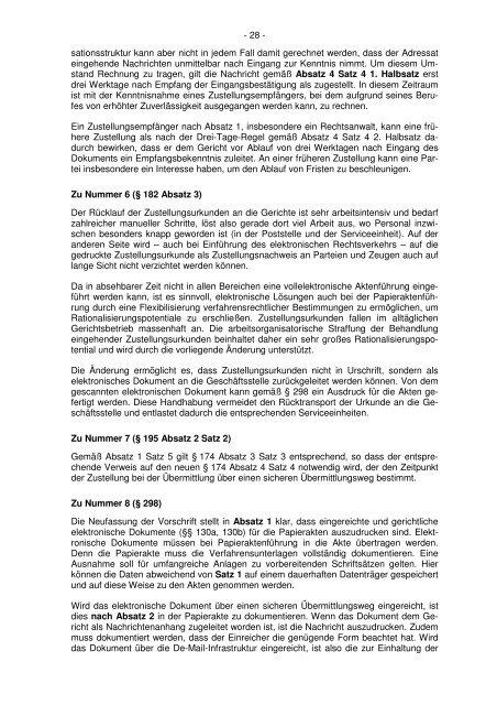 Gesetz zur Förderung des elektronischen Rechtsverkehrs bei