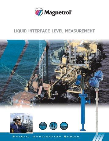 41-171 Liquid Interface Level Measurement Brochure - Magnetrol ...