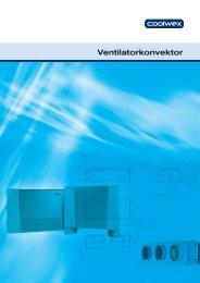 Ventilatorkonvektor - COOLWEX