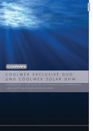 coolwex exclusive duo und coolwex solar dhw