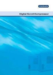 Digital Scroll-Kompressor - COOLWEX
