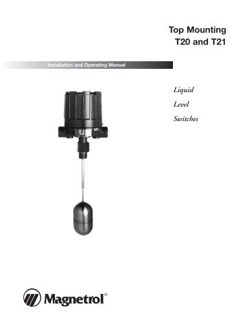 44 116 side mounting liquid level switches magnetrol international 44 604 top mount instruction magnetrol international sciox Image collections
