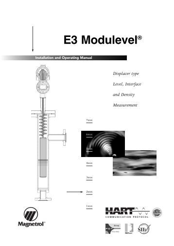 Digital E3 Modulevel Foundation Fieldbus Instruction