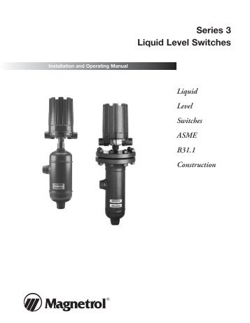 44 608 model tk1 side mounted liquid level switch magnetrol 46 624 series 3 liquid level switches magnetrol international sciox Image collections